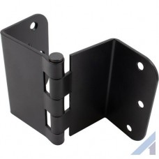 3.5 Inch Swing Clear Offset Door Hinge Matte Black 5/8 Inch Radius