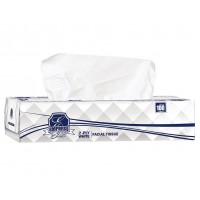 "Facial Tissue Premium Boxed 8.37""x8.07"" 2Ply White"