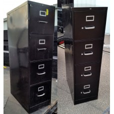 4 Drawer Vertical Filing Cabinets - HON Non-Lock